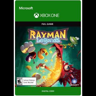 Rayman Legends [Microsoft Xbox One] [Full Game Key] [Region: U.S.] [Instant Delivery]