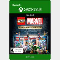 LEGO Marvel Collection [Microsoft Xbox One] [Full Games Key + DLC] [Region: U.S.] [Instant Delivery]