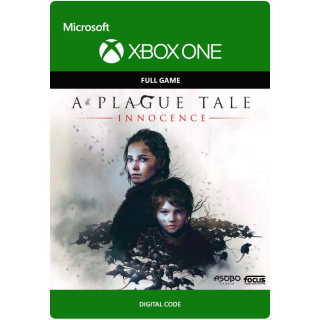A Plague Tale: Innocence [Microsoft Xbox One] [Full Game Key] [Region: U.S.] [Instant Delivery]