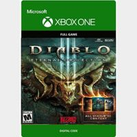 Diablo III 3: Eternal Collection [Microsoft Xbox One] [Full Game Key + DLC] [Region: U.S.] [Instant Delivery]