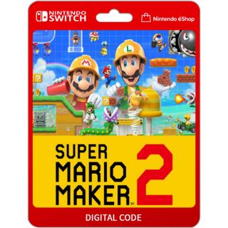 Super Mario Maker 2 [ Nintendo Switch ] [ Full Game Key ] [ Region: U.S. ] [ Instant Delivery ]