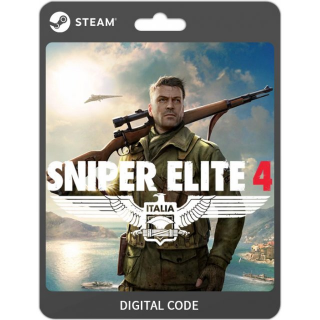 Sniper Elite 4 [ PC / Steam ] [ Full Game Key ] [ Region: Global ] [ Instant Delivery ]
