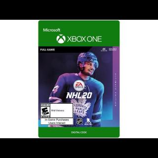 NHL 20 Ultimate Edition [Microsoft Xbox One] [Full Game Key + DLC] [Region: U.S.] [Instant Delivery]