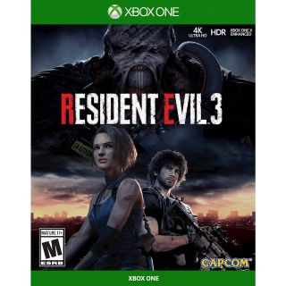 RESIDENT EVIL 3 [Microsoft Xbox One, X|S] [Full Game Key] [Region: U.S.] [Instant Delivery]