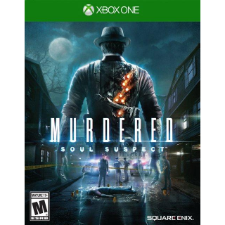 Murdered: Soul Suspect [ Microsoft Xbox One ] [ Full Game Key ] [ Region: U.S. ] [ Instant Delivery ]