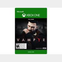 Vampyr [Microsoft Xbox One] [Full Game Key] [Region: U.S.] [Instant Delivery]