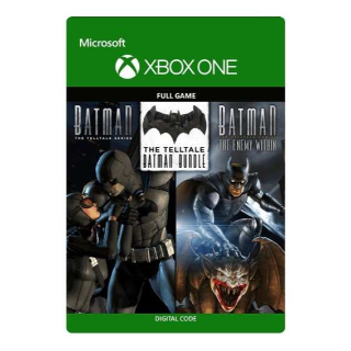 The Telltale Batman Bundle (Telltale & Enemy Within) [Microsoft Xbox One] [Full Game Keys] [Region: U.S.] [Instant Delivery]