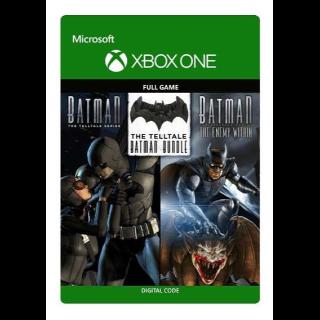 The Telltale Batman Bundle (Telltale & Enemy Within) [Microsoft Xbox One] [Full Game Keys] [Region: U.S.] [Instant Delivery]