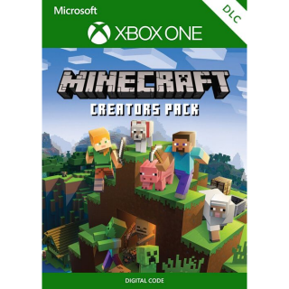 Minecraft Creators Pack [ Microsoft Xbox One ] [ DLC Key ] [ Region: Global ] [ Instant Delivery ]