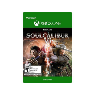 SOULCALIBUR VI / SOUL CALIBUR 6 [ Microsoft Xbox One ] [ Full Game Key ] [ Region: U.S. ] [ Instant Delivery ]