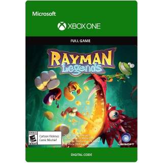 Rayman Legends [Microsoft Xbox One] [Full Game Key] [Region: U.S.] [Instant Delivery]