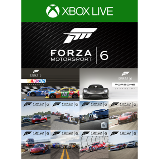 Forza Motorsport 6 Complete Add-Ons Collection [Microsoft Xbox One / PC Windows 10] [DLC Key] [Region: U.S.] [Instant Delivery]