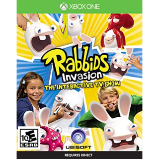Rabbids Invasion: The Interactive TV Show [Microsoft Xbox One] [Full Game Key] [Region: U.S.] [Instant Delivery]