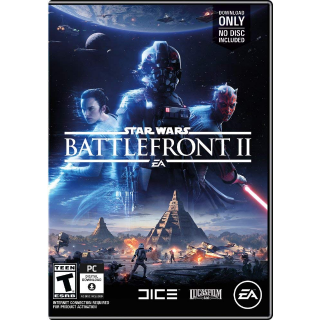 Star Wars Battlefront II 2 [ PC / Origin ] [ Full Game Key ] [ Region: U.S. ] [ Instant Delivery ]