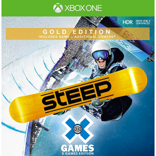 Steep X Games Gold Edition [Microsoft Xbox One] [Full Game Key + Add-on Content] [Region: U.S.] [Instant Delivery]