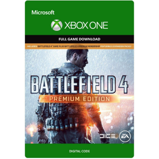 Battlefield 4: Premium Edition [Microsoft Xbox One] [Full Game Key] [Region: U.S.] [Instant Delivery]