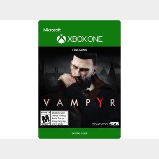 Vampyr [Microsoft Xbox One, X|S] [Full Game Key] [Region: U.S.] [Instant Delivery]