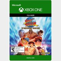 Street Fighter 30th Anniversary Collection [Microsoft Xbox One, X|S] [Full Game Key] [Region: U.S.] [Instant Delivery]