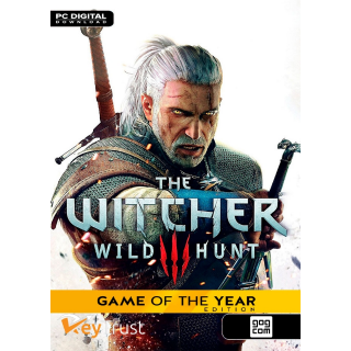 The Witcher 3 Wild Hunt Game of the Year Edition GOTY [ PC / GOG.com ] [ Game Key ] [ Region: Global ] [ Instant Delivery ]