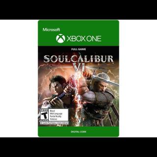 SOULCALIBUR VI / SOUL CALIBUR 6 [ Microsoft Xbox One ] [ Full Game Key ] [ Region: U.S. ] [ Instant Delivery ]