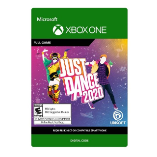 Just Dance 2020 [Microsoft Xbox One] [Full Game Key] [Region: U.S.] [Instant Delivery]