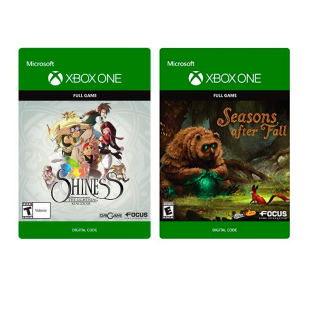 INDIE BUNDLE: Shiness and Seasons after Fall [Microsoft Xbox One] [Full Game Key] [Region: U.S.] [Instant Delivery]