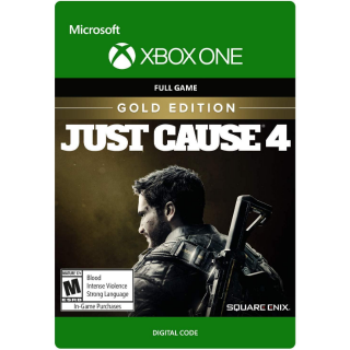 Just Cause 4 - Gold Edition [ Microsoft Xbox One ] [ Full Game Key ] [ Region: U.S. ] [ Instant Delivery ]