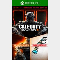 Call of Duty: Black Ops III 3 - Zombies Deluxe [Microsoft Xbox One] [Full Game Key] [Region: U.S.] [Instant Delivery]