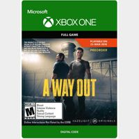 A Way Out [Microsoft Xbox One] [Full Game Key] [Region: U.S.] [Instant Delivery]