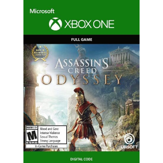 Assassin's Creed Odyssey [Microsoft Xbox One] [Full Game Key] [Region: U.S.] [Instant Delivery]