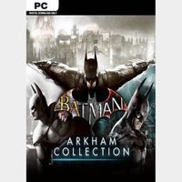 Batman: Arkham Collection [PC / Steam] [Full Games Key] [Region: Global] [Instant Delivery]