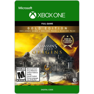 Assassin's Creed Origins Gold Edition [ Microsoft Xbox One ] [ Full Game Key ] [ Region: U.S. ] [ Instant Delivery ]