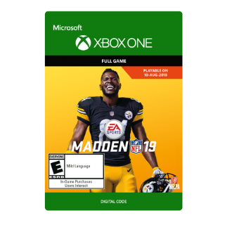 Madden NFL 19 [ Microsoft Xbox One ] [ Full Game Key ] [ Region: U.S. ] [ Instant Delivery ]