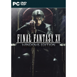 Final Fantasy XV 15 Windows Edition [ PC / Steam ] [ Full Game Key ] [ Region: Global ] [ Instant Delivery ]