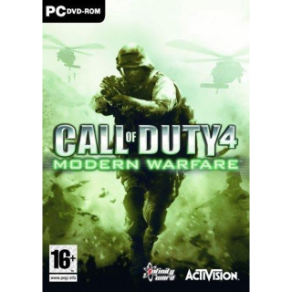 Call of Duty 4 COD: Modern Warfare [ PC / Steam ] [ Full Game Key ] [ Region: Global ] [ Instant Delivery ]