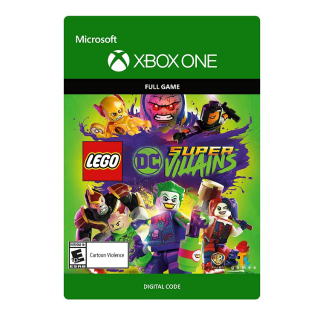 LEGO DC Super-Villains [Microsoft Xbox One] [Full Game Key] [Region: U.S.] [Instant Delivery]