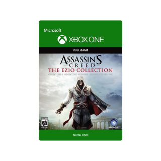 Assassin's Creed The Ezio Collection [Microsoft Xbox One] [Full Game Key] [Region: U.S.] [Instant Delivery]