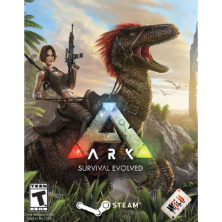 ARK: Survival Evolved [ PC, Mac, Linux / Steam ] [ Full Game Key ] [ Region: Global ] [ Instant Delivery ]