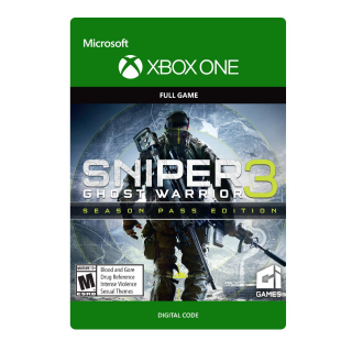 Sniper Ghost Warrior 3 Season Pass Edition [ Microsoft Xbox One ] [ Game + Season Pass ] [ Region: U.S. ] [ Instant Delivery ]