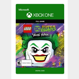 LEGO DC Super-Villains Deluxe Edition [Microsoft Xbox One, X S] [Full Game Key + DLC] [Region: U.S.] [Instant Delivery]