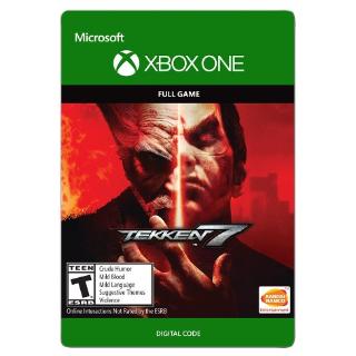 Tekken 7 [ Microsoft Xbox One ] [ Full Game Key ] [ Region: U.S. ] [ Instant Delivery ]