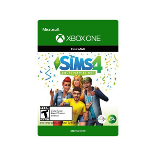 The Sims 4 Deluxe Party Edition [Microsoft Xbox One] [Full Game Key] [Region: U.S.] [Instant Delivery]
