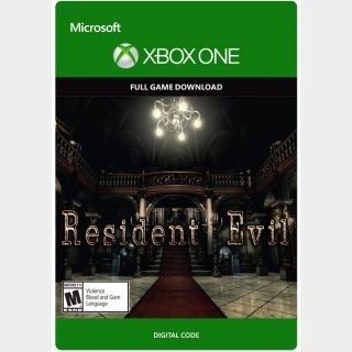 Resident Evil [Microsoft Xbox One, X|S] [Full Game Key] [Region: U.S.] [Instant Delivery]