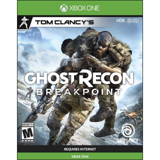 Tom Clancy's Ghost Recon Breakpoint [ Microsoft Xbox One ] [ Full Game Key ] [ Region: U.S. ] [ Instant Delivery ]