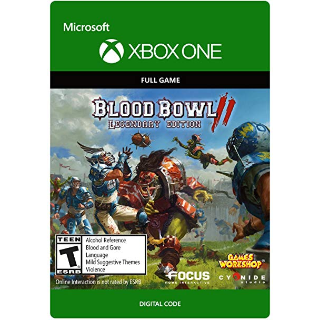 Blood Bowl 2 - Legendary Edition [ Microsoft Xbox One ] [ Full Game Key ] [ Region: U.S. ] [ Instant Delivery ]