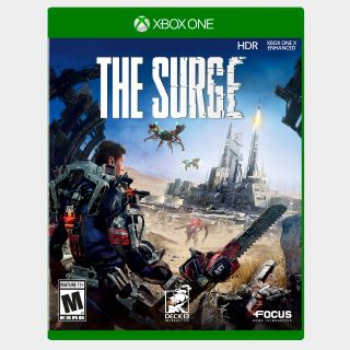 The Surge [Microsoft Xbox One, X S] [Full Game Key] [Region: U.S.] [Instant Delivery]