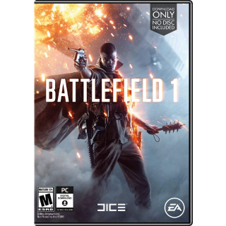 Battlefield 1 [ PC / Origin ] [ Full Game Key ] [ Region: U.S. ] [ Instant Delivery ]