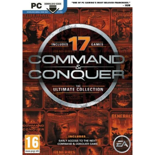 Command and Conquer: The Ultimate Edition (17 Games) [ PC / Origin ] [ Full Game Key ] [ Region: Global ] [ Instant Delivery ]