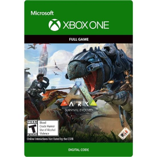 ARK: Survival Evolved [ Microsoft Xbox One / PC ] [ Full Game Key ] [ Region: U.S. ] [ Instant Delivery ]