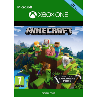 Minecraft: Explorers Pack [ Microsoft Xbox One ] [ DLC Key ] [ Region: Global ] [ Instant Delivery ]